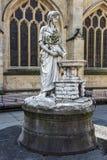 Paisaje medieval del baño de la ciudad, Somerset, Inglaterra Foto de archivo