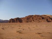 Paisaje medio-oriental del desierto Imagen de archivo