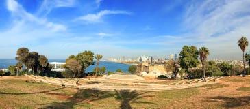 Paisaje mediterráneo de Tel Aviv - de Yafo Foto de archivo libre de regalías