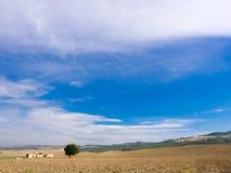 Paisaje meridional de Italia Fotografía de archivo