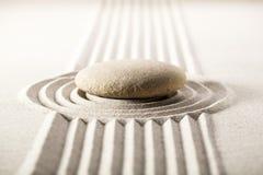 Paisaje mineral del zen para la concentración Fotografía de archivo libre de regalías
