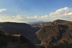 Paisaje Montañas. Barranca de Huentitan nubes cielo aventura landscape mexico Stock Photo