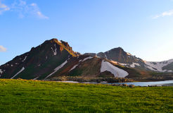 Paisaje montañoso Imagen de archivo