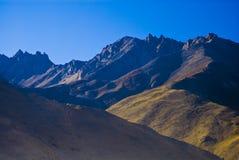 Paisaje montañoso foto de archivo