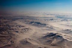 Paisaje montañoso mongol Imagenes de archivo