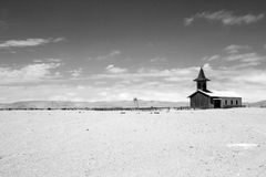 Paisaje Namibia de la iglesia imagen de archivo libre de regalías