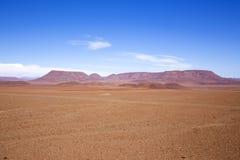 Paisaje namibiano de la montaña fotos de archivo