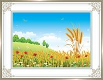 Paisaje natural stock de ilustración