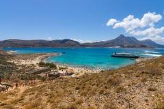 Paisaje natural de la isla Imeri Gramvousa Fotografía de archivo libre de regalías