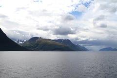 Paisaje natural de Noruega, Europa del Norte Fotos de archivo