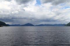 Paisaje natural de Noruega, Europa del Norte Fotos de archivo libres de regalías