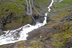 Paisaje natural de Noruega, Europa del Norte Imagen de archivo libre de regalías