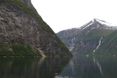 Paisaje natural de Noruega, Europa del Norte Imágenes de archivo libres de regalías