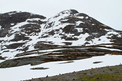 Paisaje natural de Noruega, Europa del Norte Imagen de archivo