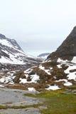 Paisaje natural de Noruega, Europa del Norte Fotografía de archivo