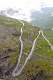 Paisaje natural de Noruega, Europa del Norte Foto de archivo libre de regalías
