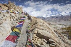 Paisaje natural en Leh Ladakh, Jammu y Cachemira, la India foto de archivo libre de regalías