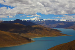 Paisaje, naturaleza, China, Tíbet fotografía de archivo