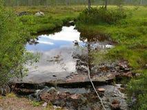 Paisaje Nesjestranda de Noruega Fotografía de archivo libre de regalías