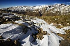 Paisaje Nevado Imagen de archivo libre de regalías