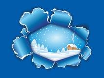 Paisaje Nevado libre illustration