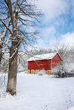 Paisaje nevoso hermoso del invierno Imágenes de archivo libres de regalías