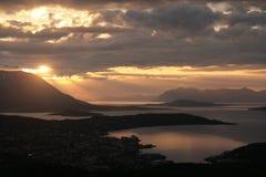 Paisaje Noruega Foto de archivo