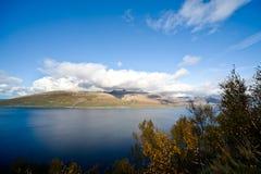 Paisaje noruego Fotografía de archivo libre de regalías