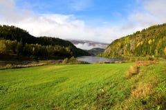 Paisaje noruego Imagen de archivo