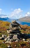 Paisaje noruego Foto de archivo