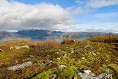 Paisaje noruego Fotografía de archivo