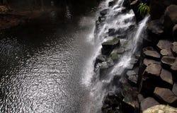 Paisaje panorámico de la cascada Fotos de archivo libres de regalías