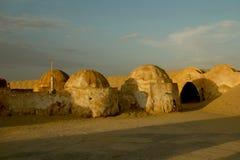Paisaje para la película Star Wars Fotos de archivo