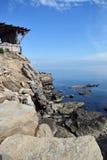 Paisaje por el mar Fotografía de archivo libre de regalías