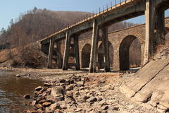 Paisaje, puente Imagenes de archivo