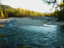 Paisaje, río Imagen de archivo