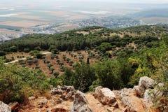 Paisaje. Región agrícola. Fotos de archivo