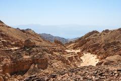 Paisaje rocoso del desierto Foto de archivo