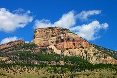 Paisaje rugoso de la montaña de Wyoming Foto de archivo libre de regalías