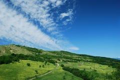 Paisaje rumano del campo Fotos de archivo libres de regalías