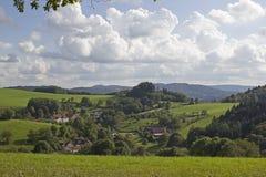 Paisaje rural alemán foto de archivo libre de regalías