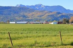 Paisaje rural de la Columbia Brit?nica meridional foto de archivo libre de regalías