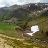 Paisaje rural de la montaña Foto de archivo libre de regalías