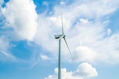 Paisaje rural del molino de viento Imágenes de archivo libres de regalías