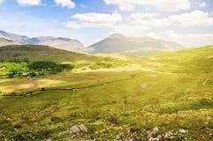 Paisaje rural del paisaje del campo irlandés épico hermoso del th imágenes de archivo libres de regalías