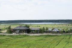 Paisaje rural del verano Foto de archivo libre de regalías
