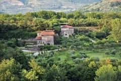 Paisaje rural en el dei Goti de Sant 'Agata foto de archivo libre de regalías