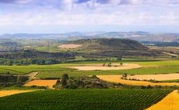 Paisaje rural en La Rioja fotos de archivo libres de regalías