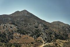 Paisaje rural en las montañas Imagen de archivo