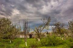 Paisaje rural en primavera Imagen de archivo libre de regalías
